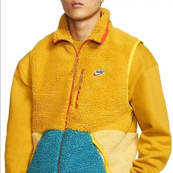 Nike NSW Sportswear Men's Sherpa Full Zip Vest